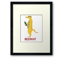 Fancy a cold one? Framed Print