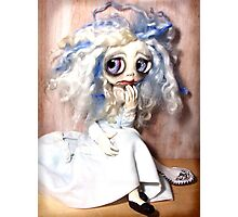 Big Eyed Girl Fairy  Photographic Print