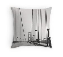 Golden Gate Drive Throw Pillow