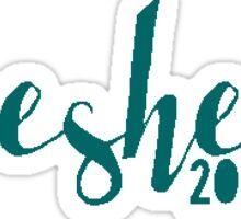 Gesher 2016 Teal Sticker