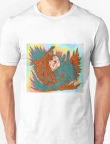 Rainbow Prince And Princess Angels  T-Shirt