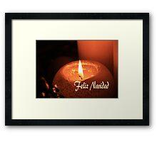 Feliz Navidad -  Spanish Christmas Framed Print