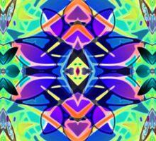Floral Geometric Pattern Sticker