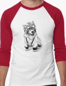 Rebel Corgi Men's Baseball ¾ T-Shirt