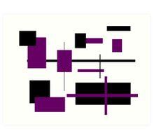 Rectangular Pattern 14  Art Print