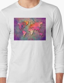 World Map special 4 Long Sleeve T-Shirt