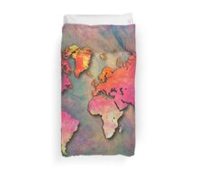 World Map special 4 Duvet Cover
