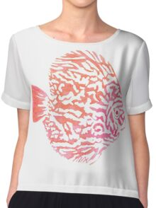 Discus fish Chiffon Top