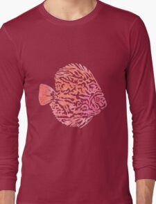 Discus fish Long Sleeve T-Shirt
