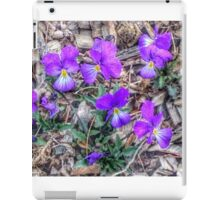 Corsican Violets iPad Case/Skin