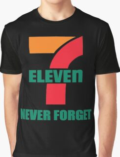 7 Eleven Never Forget Graphic T-Shirt