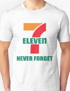 7 Eleven Never Forget T-Shirt