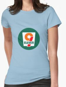 7 Eleven, 9/11 Womens Fitted T-Shirt