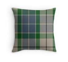 00454 Birnham Blue Tartan  Throw Pillow