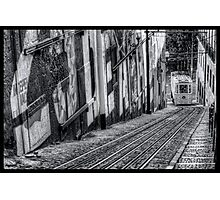 Ascensor Do Lavra  Photographic Print