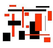 Rectangular Pattern 16  Photographic Print