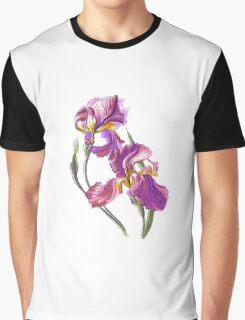 Irises-1 Graphic T-Shirt