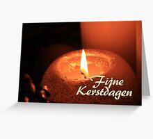 Fijne Kerstdagen - Dutch Christmas Greeting Card
