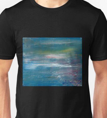 Megan Lewis-Sea of Passion - Original acrylic painting on Canvas Unisex T-Shirt