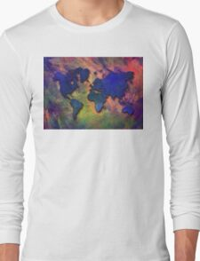 World map special 5 Long Sleeve T-Shirt
