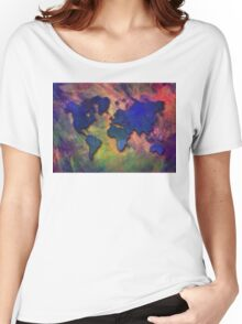 World map special 5 Women's Relaxed Fit T-Shirt