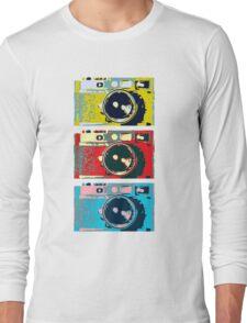 3 Leica M9s Long Sleeve T-Shirt