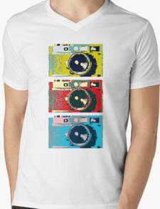 3 Leica M9s Mens V-Neck T-Shirt