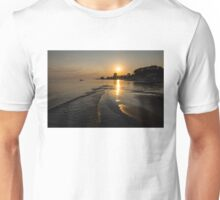 Golden Sands and Gentle Waves - Lake Erie, Ontario, Canada Unisex T-Shirt