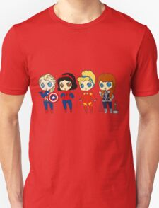 SUPERHERO PRINCESSES Unisex T-Shirt