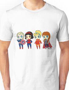 SUPERHERO PRINCESSES Unisex T-Shirt