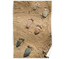 Sand Between your Toes Poster