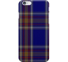 00465 Blue Rust Tartan  iPhone Case/Skin