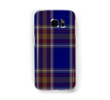 00465 Blue Rust Tartan  Samsung Galaxy Case/Skin