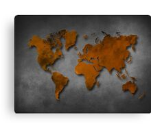 World map special 6 Canvas Print