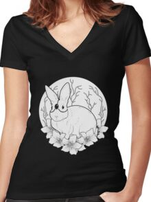 Moon Ritual Women's Fitted V-Neck T-Shirt