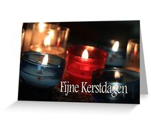 Fijne Kerstdagen - Dutch Christmas Greeting Card