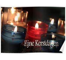 Fijne Kerstdagen - Dutch Christmas Poster