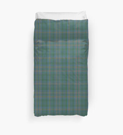 00463 Blue Ridge District Tartan  Duvet Cover