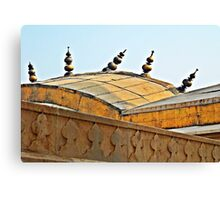 Agra Fort Roof  Canvas Print