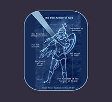 Full Armor of God - Warrior Girl 2 Unisex T-Shirt