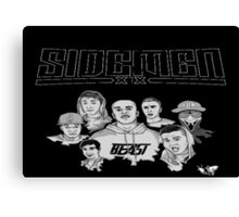 Sidemen Logo and Picture Canvas Print