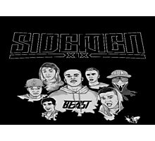 Sidemen Logo and Picture Photographic Print