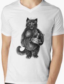 Behemoth the Cat Mens V-Neck T-Shirt