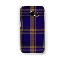 00461 Blue Matheson Hunting Tartan  Samsung Galaxy Case/Skin