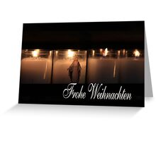 Frohe Weihnachten - German Christmas Greeting Card