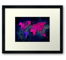 World map special 7 Framed Print