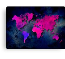 World map special 7 Canvas Print