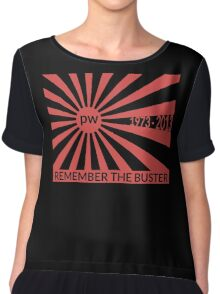 Remember The Buster - Paul Walker Tribute Chiffon Top