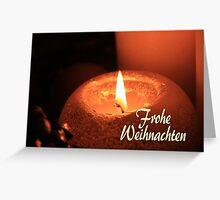 Frohe Weihnachten - German Christmas Greeting Card