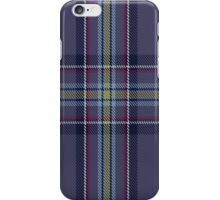 00468 Blue Toon District Tartan  iPhone Case/Skin